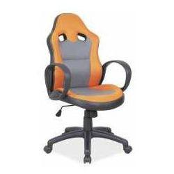 Signal meble Fotel q-054 pomarańczowo-szary - zadzwoń i złap rabat do -10%! telefon: 601-892-200