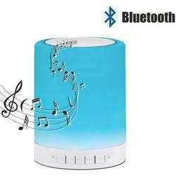 Polux Lampa biurkowa z wbudowanym głośnikiem 5w led rgb funny 306128 /sanico (5901508306128)