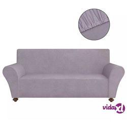 elastyczny pokrowiec na sofę, z dżerseju, szary marki Vidaxl