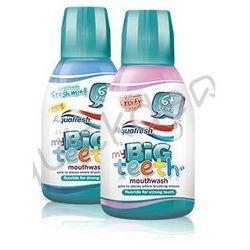 Aquafresh Big Teeth Kids płyn do płukania jamy ustnej 300 ml - produkt z kategorii- Płyny do jamy ustnej