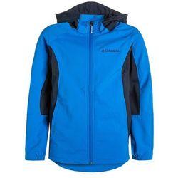 Columbia SPLASH FLASH II Kurtka Softshell hyper blue - produkt z kategorii- kurtki dla dzieci