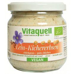 Pasta kanapkowa z olejem lnianym i ciecierzycą bio 180 g - vitaquell wyprodukowany przez Vitaquell (margaryny