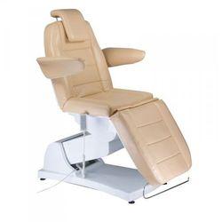 Elektryczny fotel kosmetyczny bologna beżowy, marki Vanity