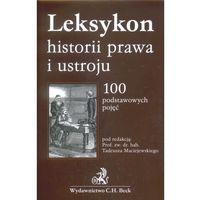 Leksykon historii prawa i ustroju (kategoria: Encyklopedie i słowniki)