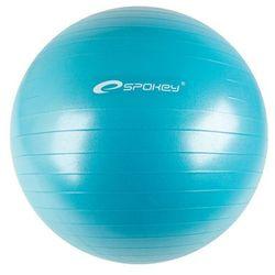 Gimnastyczny piłka Spokey Fitball II 75 cm, włącznie pompy, turkusowy - produkt z kategorii- Piłki i skakanki