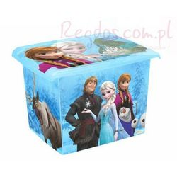 Pudełko 20L Frozen Kraina Lodu 2826 pojemnik na zabawki - produkt z kategorii- Pojemniki na zabawki