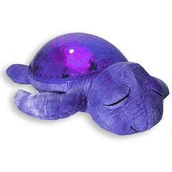Lampka nocna CLOUD B Fioletowy Żółw uspokajająca