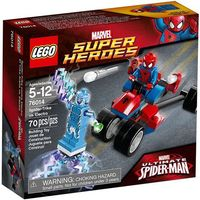 76014 TRÓJKOŁOWIEC PAJĄKA VS ELECTRO (Spider-Trike vs. Electro) - KLOCKI LEGO SUPER HEROES