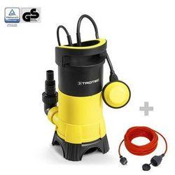 Trotec Pompa zanurzeniowa do wody brudnej twp 11025 e + przedłużacz jakościowy 15 m / 230 v / 1,5 mm²