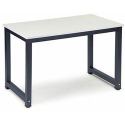 Biurko szkolne, komputerowe, stolik, 120, biel, mat marki Modernhome