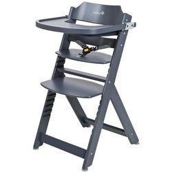Safety 1st wysokie krzesełko timba, drewno, antracyt