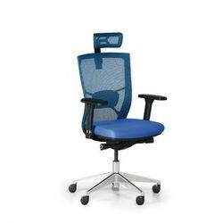 Krzesło biurowe Designo, niebieski