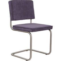 Zuiver Krzesło RIDGE BRUSHED RIB purpurowe 15A 1100085