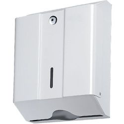 Pojemnik na ręczniki papierowe składane MED Losdi stal biała (8436015950504)