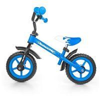 Rowerek biegowy Milly Mally Dragon z hamulcem blue