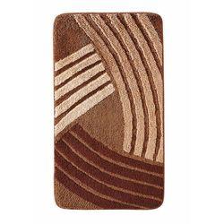 Dywaniki łazienkowe w graficzny wzór bonprix brązowy