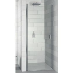 nautic n101 drzwi prysznicowe 90x200 prawe, szkło transparentne easyclean ggb0604802 wyprodukowany przez Riho