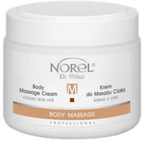 Norel (Dr Wilsz) BODY MASSAGE CREAM COCOA AND CHILI Krem do masażu ciała kakao z chili (PB328)