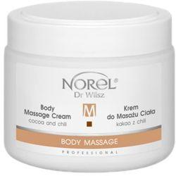 body massage cream cocoa and chili krem do masażu ciała kakao z chili (pb328) wyprodukowany przez Norel (dr