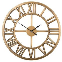 Beliani Zegar ścienny stare złoto nottwil (4251682200004)