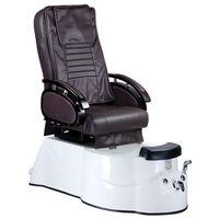 Fotel do pedicure z masażem BR-3820D Brązowy