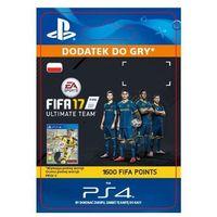 Fifa 17 1600 punktów [kod aktywacyjny] marki Sony