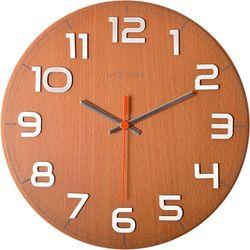Zegar ścienny Nextime Classy buk