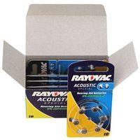 Rayovac 60 x baterie do aparatów słuchowych  acoustic special 10