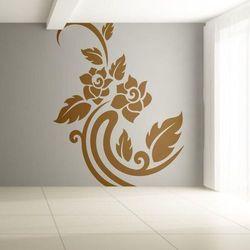 Wally - piękno dekoracji Szablon malarski kwiaty 0979
