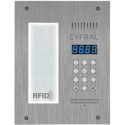 Cyfral Panel cyfrowy pc-3000r lm ze integrowaną listą lokatorską i czytnikiem rfid (5902768850970)