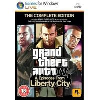 GTA IV 4 +LIBERTY CITY COMPLETE EDITION PL PC