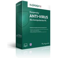 Kaspersky Antyvirus 2015 ENG 3 PC/12 Miec ESD