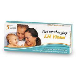 TEST LH VITAM owulacyjny x 5 testów - produkt z kategorii- Testy płodności