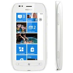 Nokia Lumia 710 8GB Biała - Biały \ 2 lata na terenie całego kraju + polskie menu + bez sim locka - produkt
