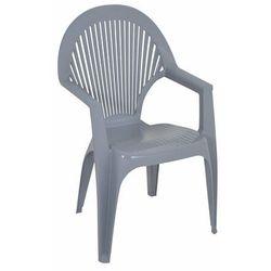 Krzesło Syrena szare 57x58x90 cm, obi_6467864