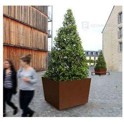 Donica miejska Olbia na drzewka, stalowa - 100x100 cm