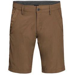 Spodenki desert valley shorts men bark brown - 50 marki Jack wolfskin