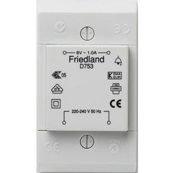 Transformator podtynkowy 8 v 1a. od producenta Friedland