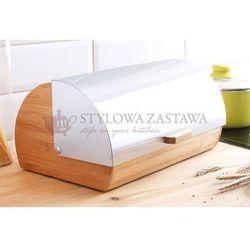 Gordon chlebak drewniany z pokrywą stalową Ambition, DAJ_68919
