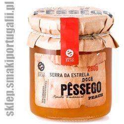 Portugalska konfitura z brzoskwiń 280g wyprodukowany przez Quinta de jugais