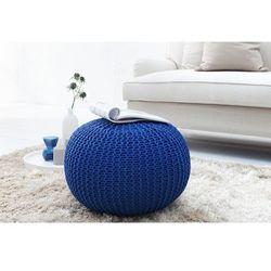Interior space :: puf knitted ball - granatowy?50cm - granatowy