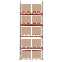 Aj produkty Regał paletowy ultimate, moduł podstawowy, 5000x1850x1100 mm, 10 palet, 1000 kg/paleta