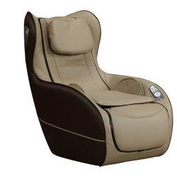 Fotel do masażu ADRASTEE ze skóry syntetycznej — opcja Bluetooth — beżowy