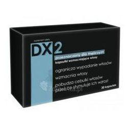 Dx2przeciw wypadaniu włosów 30 sztuk, szybka dostawa od 0zł, marki Aflofarm fabryka leków sp.z o.o.