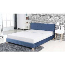 Aksamitne łóżko lara marki Hliving