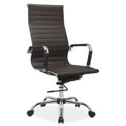 Signal meble Fotel obrotowy q-040 brązowy