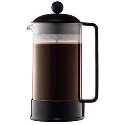 Zaparzacz do kawy Brazil, 8 fliliżanek, 1.00 l, czarny - 1,00 l