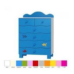 Komoda 6 szuflad OCEANIC - produkt z kategorii- Szafy i szafki
