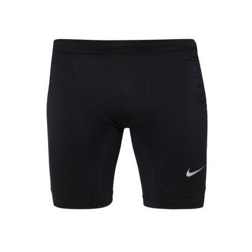 Nike Performance ESSENTIAL Legginsy black/light green spark/reflective silver - produkt dostępny w Zalando.pl