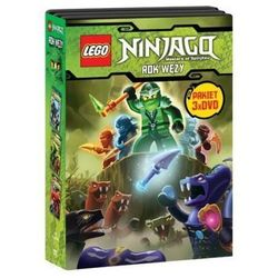 LEGO NINJAGO. ROK WĘŻY, CZĘŚCI 1-3 PAKIET (3 DVD) GALAPAGOS Films 7321997610045, kup u jednego z partneró